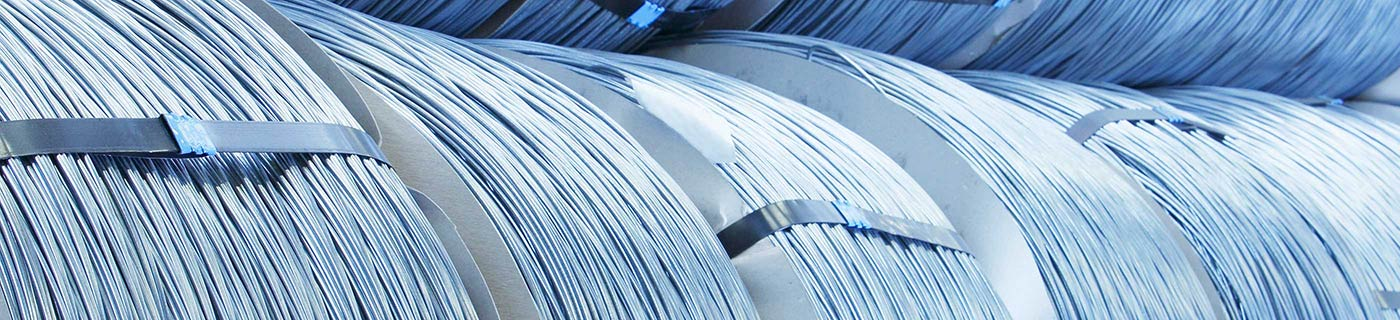 Stainless steel wire in productionn